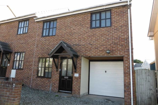 Thumbnail End terrace house to rent in Strand Mews, Bude, Cornwall