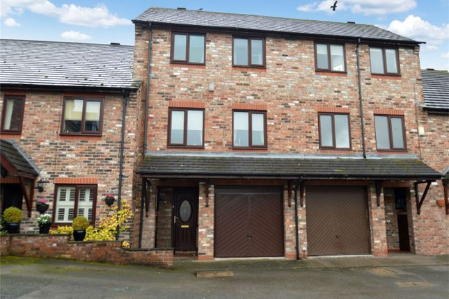 Thumbnail End terrace house for sale in Quayside Way, Macclesfield, Cheshire