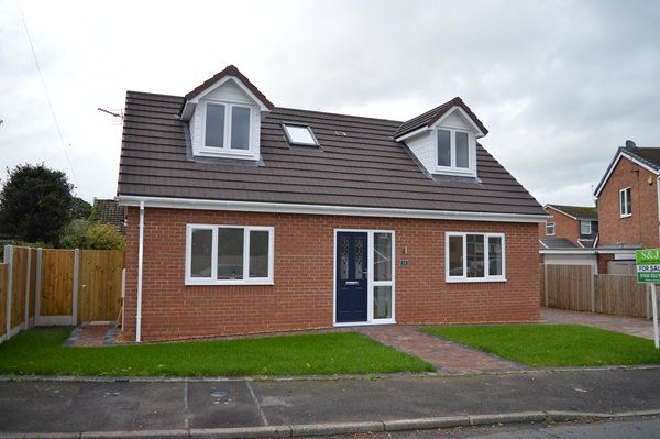 Thumbnail Detached house for sale in Melrose Crescent, Market Drayton
