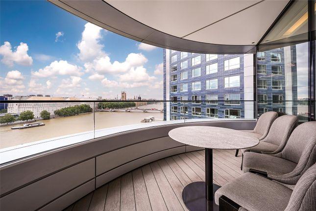 Thumbnail Flat to rent in The Corniche, 23 Albert Embankment, London