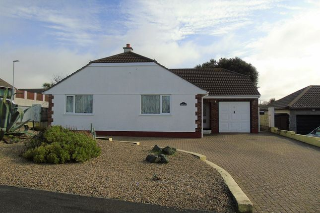 Thumbnail Detached bungalow for sale in Trelissick Road, Hayle, Cornwall.
