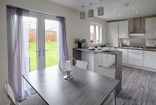 "Thumbnail Semi-detached house for sale in ""Fearnwood"" at Mugiemoss Road, Bucksburn, Aberdeen"