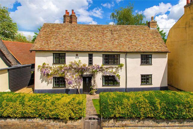 Thumbnail Detached house for sale in Grantchester Road, Trumpington, Cambridge