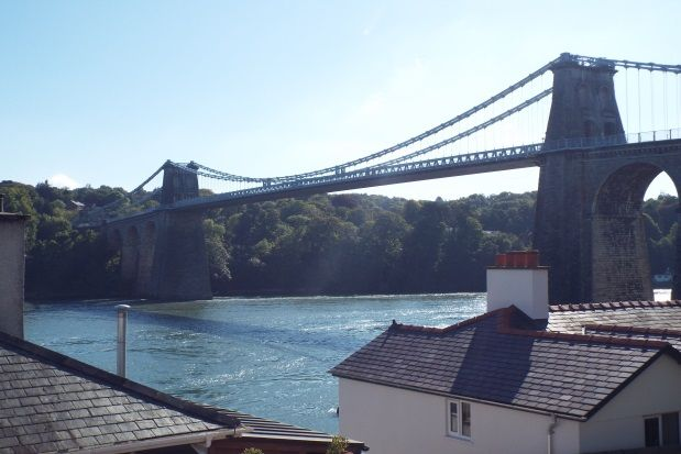 Thumbnail Detached house to rent in Cambria Road, Menai Bridge