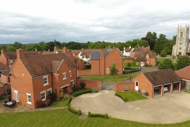 Thumbnail Detached house for sale in Church Close, Alveston, Stratford-Upon-Avon