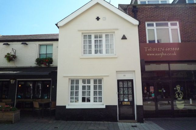 Thumbnail Retail premises to let in 65 Park Street, Camberley