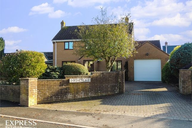Thumbnail Detached house for sale in Leigh Road, Chulmleigh, Devon