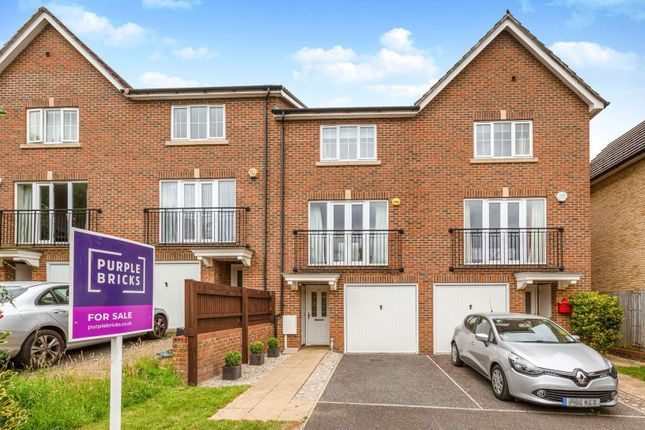 Thumbnail 3 bed town house for sale in Tregony Road, Orpington