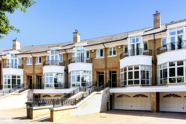 Thumbnail Town house to rent in St. David's Drive, Englefield Green, Egham