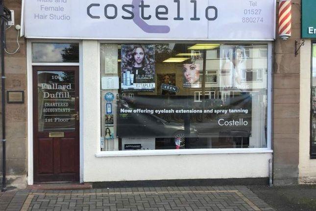 Thumbnail Retail premises for sale in 106 Birmingham Road, Bromsgrove