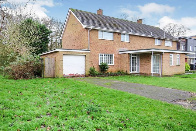 Thumbnail Semi-detached house for sale in Rowlett Road, Corby