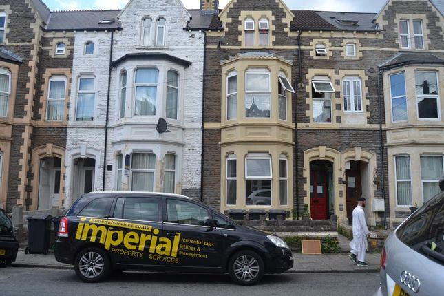 Thumbnail Flat to rent in 94, Claude Road, Roath, Cardiff, South Wales