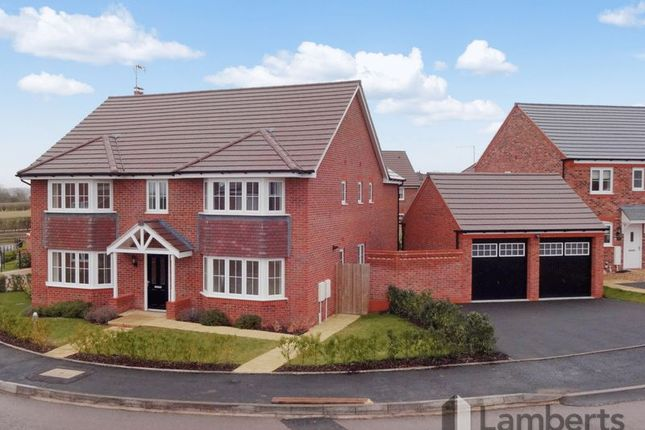 Thumbnail Detached house for sale in Ross Crescent, Inkberrow, Worcestershire.