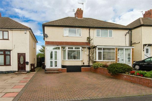 Thumbnail Semi-detached house for sale in Moreton Road, Bushbury, Wolverhampton, West Midlands