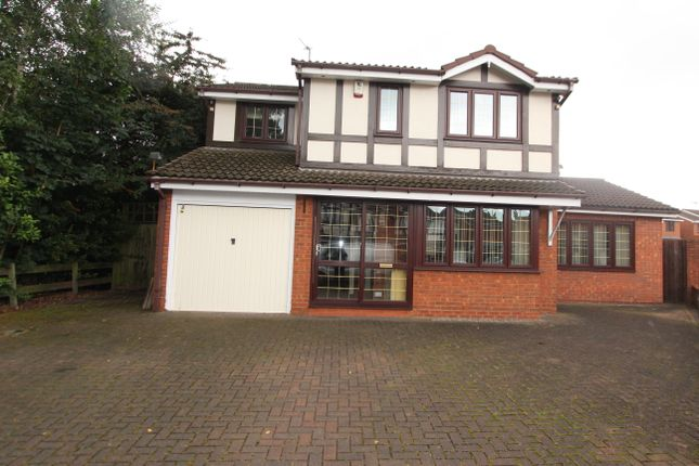 Thumbnail Detached house for sale in Taryn Drive, Darlaston, Wednesbury