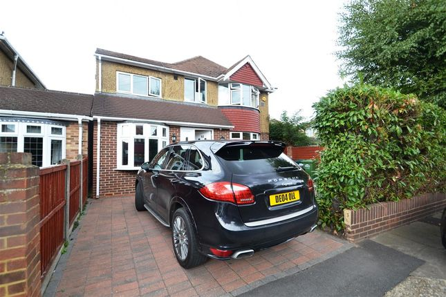 Thumbnail Detached house for sale in Stanwell Gardens, Stanwell, Staines