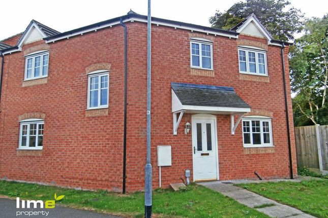 Thumbnail End terrace house to rent in Hainsworth Park, Hull