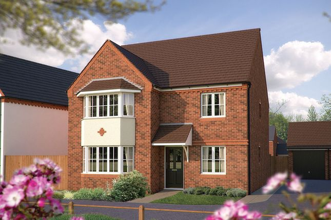 "Thumbnail Detached house for sale in ""The Oxford"" at Squinter Pip Way, Bowbrook, Shrewsbury"