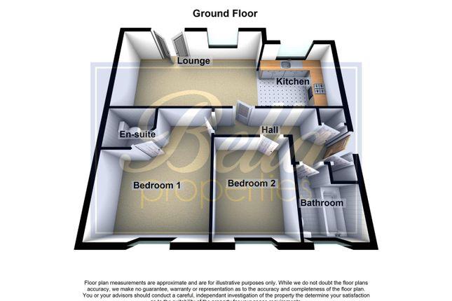 3D Floorplan of Collum House Road, Scunthorpe DN16