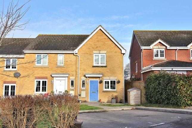 Thumbnail End terrace house for sale in White Tree Close, Fair Oak, Eastleigh