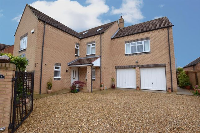 Thumbnail Detached house for sale in Ousemere Close, Billingborough, Sleaford