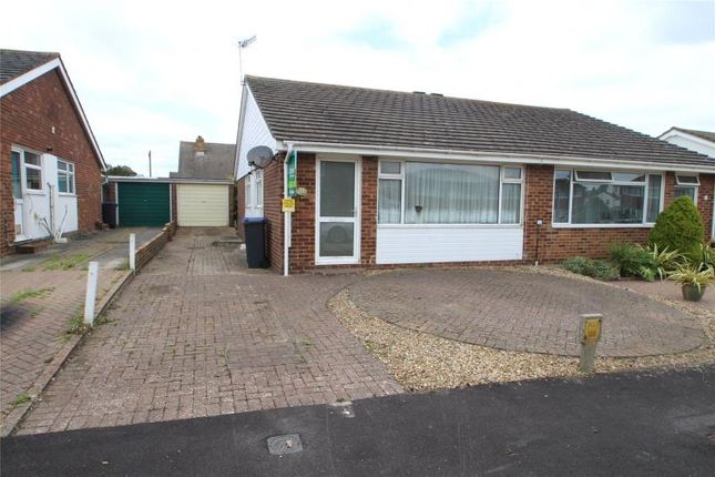 2 bed semi-detached bungalow for sale in Brook Way, Lancing, West Sussex