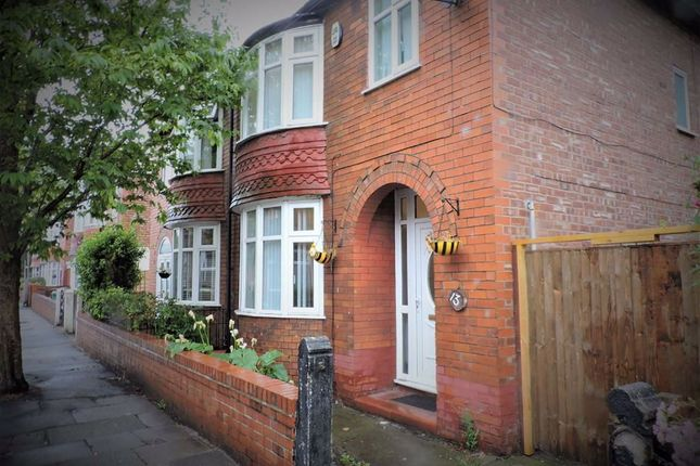 Thumbnail Semi-detached house for sale in Lincoln Avenue, Levenshulme, Manchester