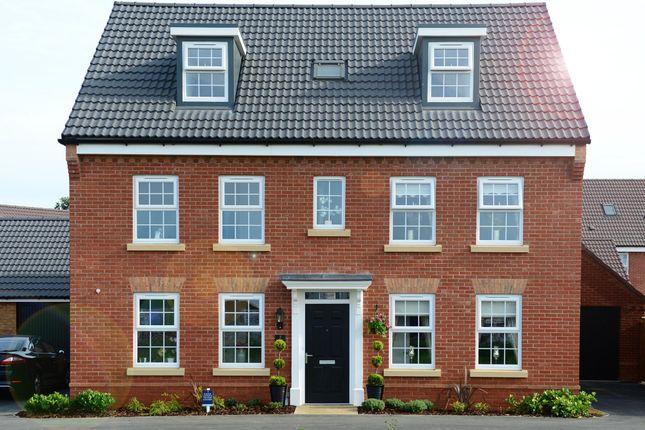 "Thumbnail Detached house for sale in ""Buckingham"" at Main Road, Earls Barton, Northampton"