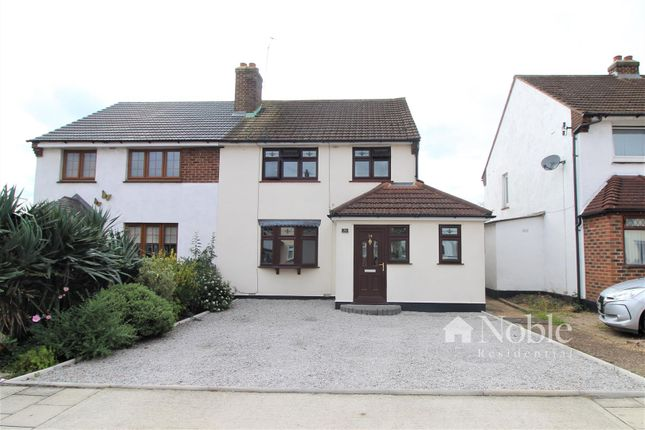 Thumbnail Semi-detached house for sale in Broadstone Road, Hornchurch