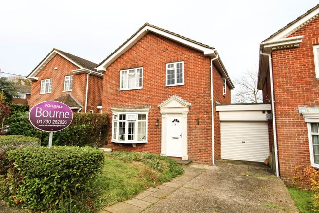 Thumbnail Detached house for sale in Selborne Close, Petersfield, Hampshire