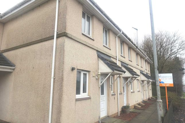 Thumbnail 2 bed terraced house to rent in Greenock Road, Inchinnan, Renfrew