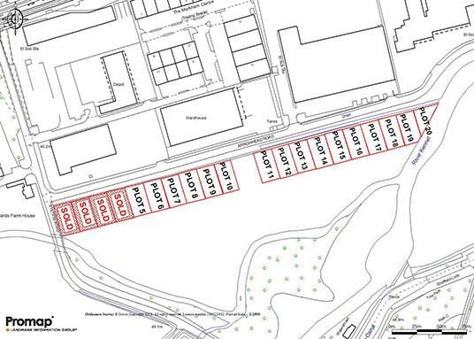 Thumbnail Land for sale in Arrowhead Road, Theale, Reading