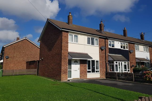Thumbnail End terrace house for sale in Cameron Road, Moreton, Wirral