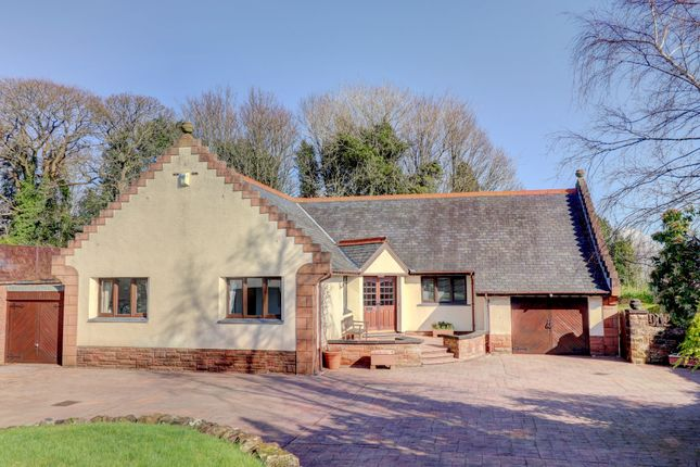 Thumbnail Detached bungalow for sale in Troqueer Road, Dumfries