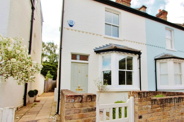 Thumbnail End terrace house for sale in New Road, Off Ham Common