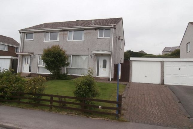 Thumbnail Semi-detached house to rent in Springfield Avenue, Whitehaven