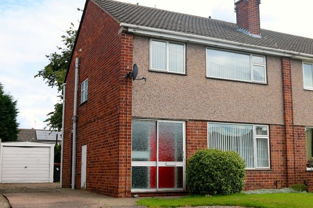 Thumbnail Semi-detached house to rent in Brookside Avenue, Newport