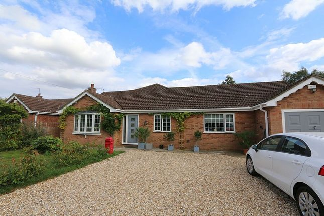 Thumbnail Detached bungalow for sale in Witham Road, Woodhall Spa, Lincolnshire