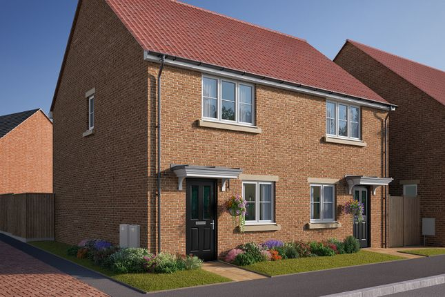 "Thumbnail Semi-detached house for sale in ""The Harcourt"" at Cobblers Lane, Pontefract"