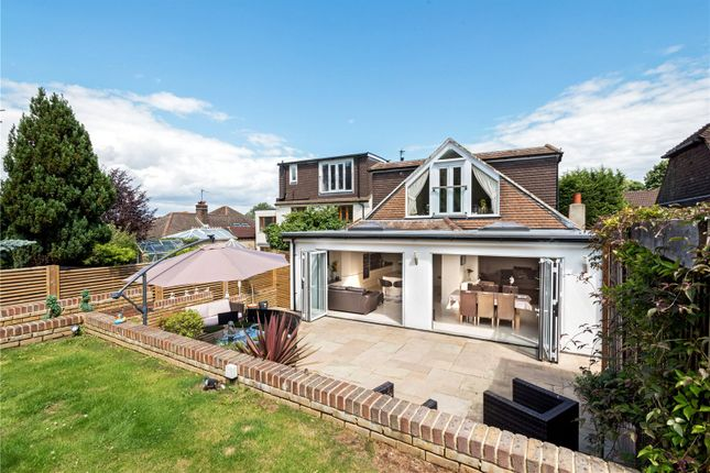 Thumbnail Detached house for sale in Hillside, Banstead, Surrey