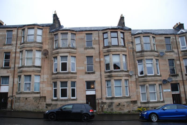 Thumbnail Flat to rent in Brachelston Street, Greenock Unfurnished