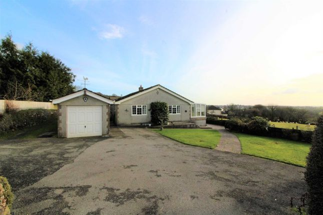 Thumbnail Detached bungalow for sale in Redmoor Road, Kelly Bray, Callington