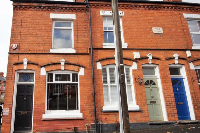 Thumbnail Terraced house to rent in Leighton Road, Moseley, Birmingham
