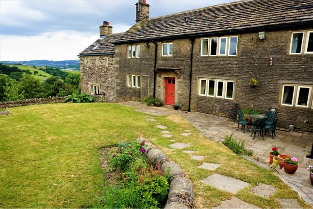 Thumbnail Detached house to rent in Derbyshire Level, Glossop
