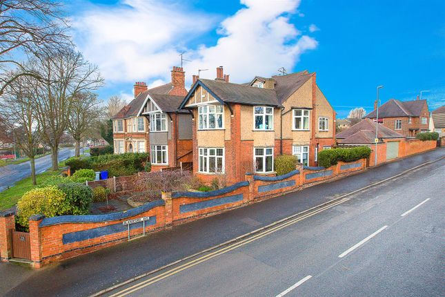 Thumbnail Town house for sale in Rockingham Road, Kettering