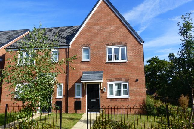 Thumbnail Semi-detached house to rent in Woodlands View, Leegomery, Telford