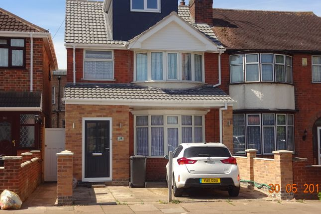 Thumbnail Semi-detached house to rent in Elizabeth St, Leicester