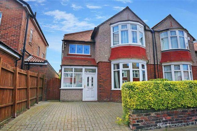 Thumbnail Semi-detached house to rent in Ashbrooke, Monkseaton, Whitley Bay