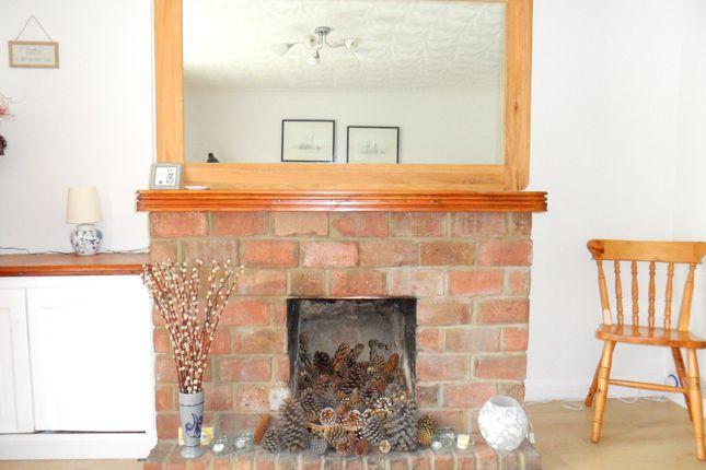 Lounge Fireplace of Roman Bank, Long Sutton, Spalding, Lincolnshire PE12