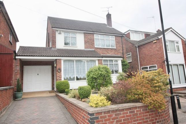 Thumbnail Detached house for sale in Swinburne Avenue, Coventry